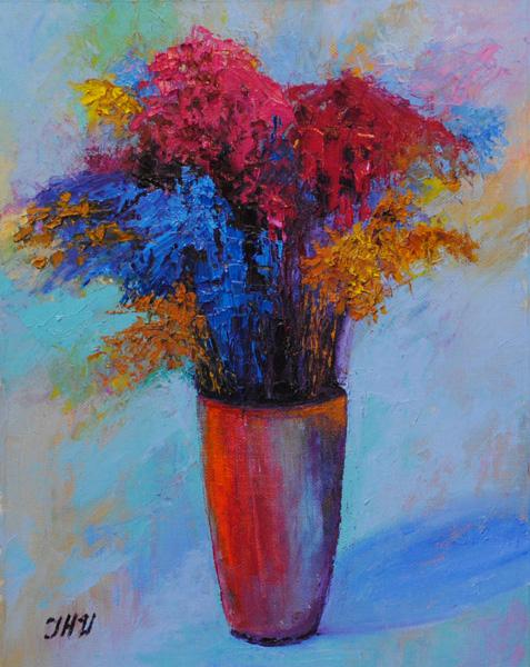 Surrealistic bouquet.